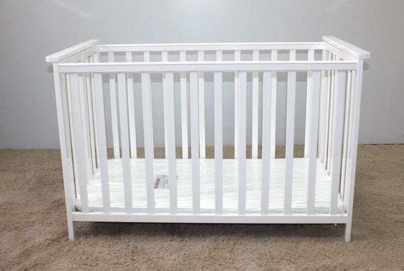 Samuelsdirect White Baby Cot Bed Samuelsdirect